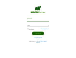 merchants.groupon.pl screenshot