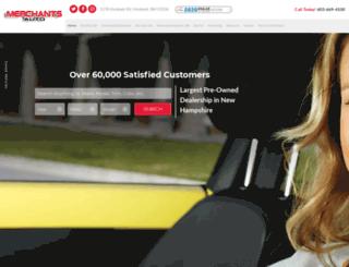 merchantsauto.com screenshot