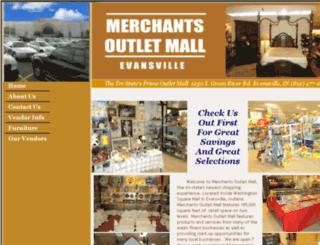 merchantsoutletmallevv.com screenshot