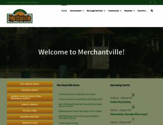 merchantvillenj.gov screenshot
