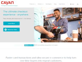 merchantware.net screenshot