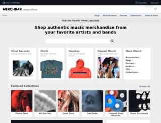 merchbar.com screenshot