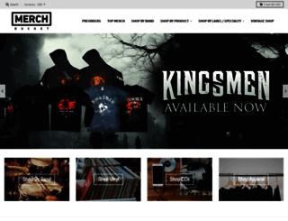 merchbucket.com screenshot
