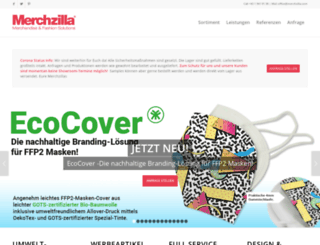 merchzilla.com screenshot