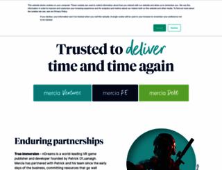 mercia.co.uk screenshot
