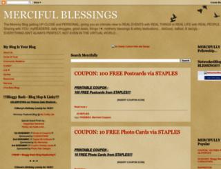 merciful-blessings.blogspot.com screenshot