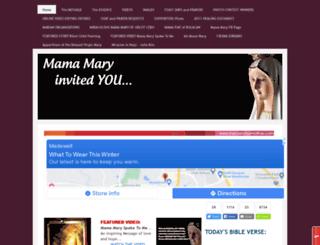 mercifulmother.yolasite.com screenshot