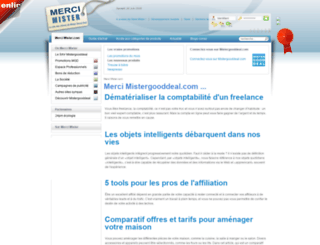 mercimister.com screenshot