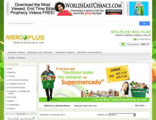 mercoplus.tiendastore.net screenshot
