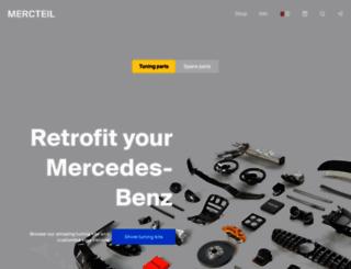 mercteil.com screenshot