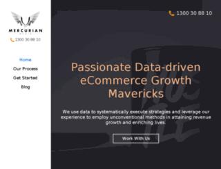 mercurianmedia.com.au screenshot