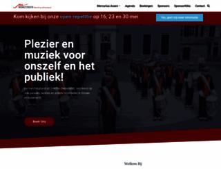 mercurius-assen.nl screenshot