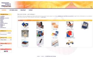 mercurius-sverige.com screenshot