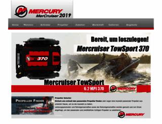mercurydiesel.de screenshot