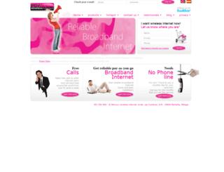 mercuryinternet.com screenshot