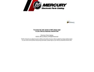 mercurymarine.sysonline.com screenshot