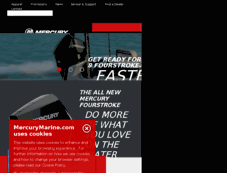mercurymercruiser.com screenshot