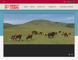 mercycorps.org.mn screenshot
