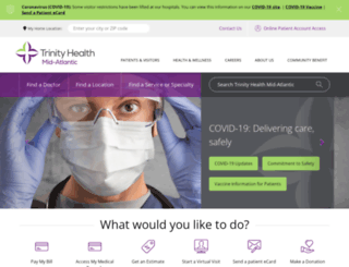 mercyhealth.org screenshot