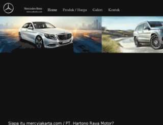 mercyjakarta.com screenshot
