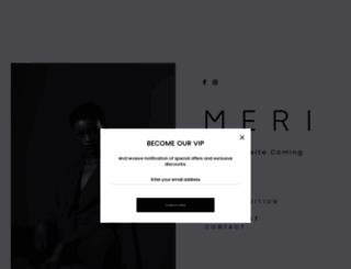 meri.com.au screenshot
