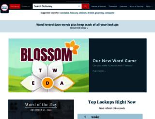 meriam-webster.com screenshot