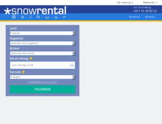meribel-centre.snowrental.nl screenshot