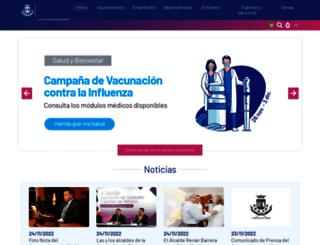 merida.gob.mx screenshot