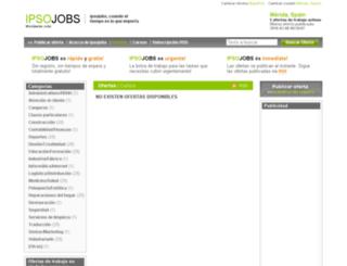 merida.ipsojobs.com screenshot