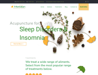 meridian-health.com.au screenshot