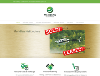 meridianhelicopters.com screenshot