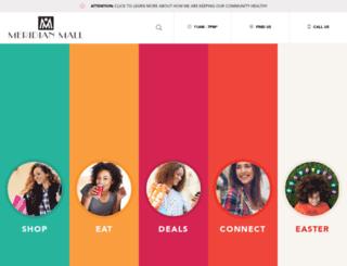meridianmall.com screenshot