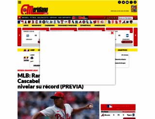 meridiano.com.mx screenshot