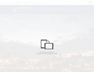 meridianrealty.co.za screenshot