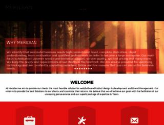 meridiansys.com screenshot