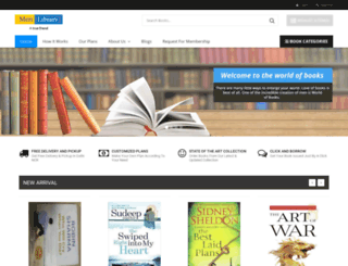 merilibrary.com screenshot