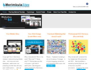 merimbulasites.com screenshot