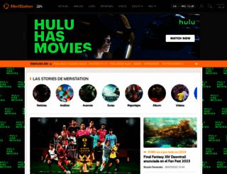 meristation.com screenshot