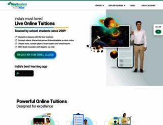 meritnation.com screenshot