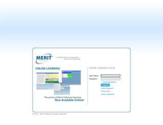 meritonlinelearning.com screenshot