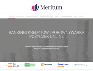 meritumbank.pl screenshot