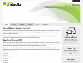 meritumbrella.co.uk screenshot