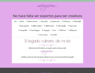 meriyo.jimdo.com screenshot