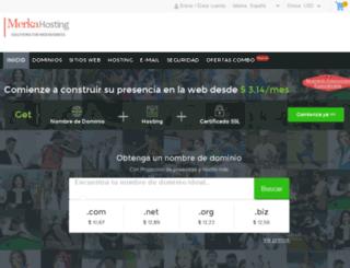 merkahosting.com screenshot