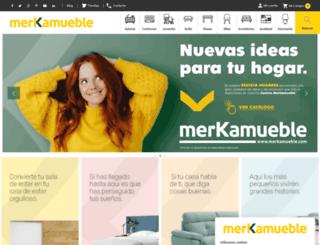 merkamueble.com screenshot