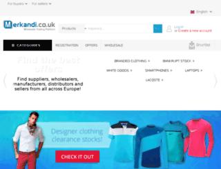merkandi.co.uk screenshot