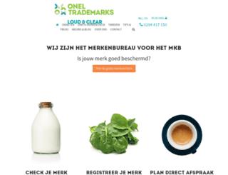 merkenwinkel.nl screenshot