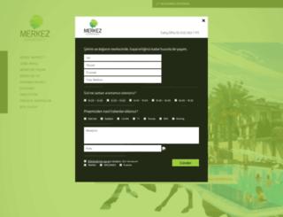 merkezzekeriyakoy.com screenshot