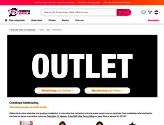 merkkleding.studentenkorting.nl screenshot