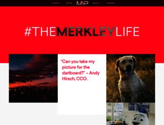 merkleyandpartners.com screenshot